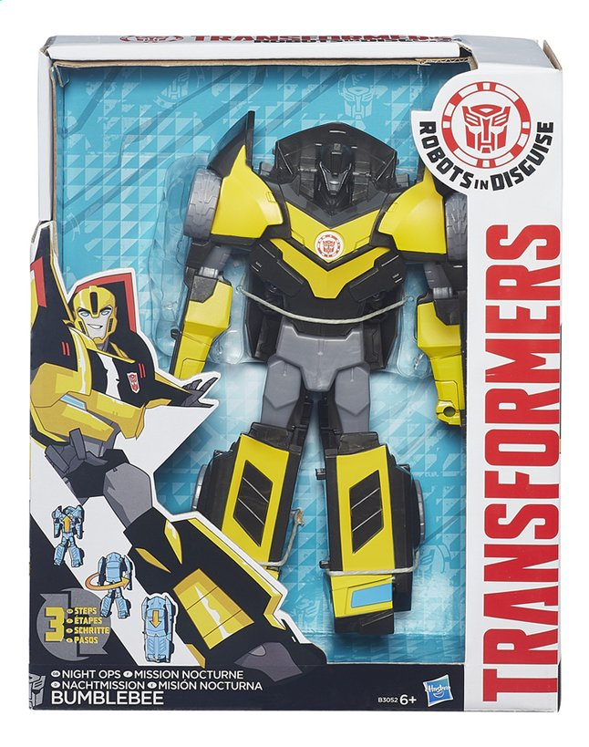 Image pour Figurine Transformers Robots in Disguise Mission nocturne Bumblebee à partir de ColliShop