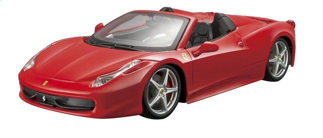 Image pour Bburago voiture Ferrari Race & Play 458 Spider à partir de ColliShop