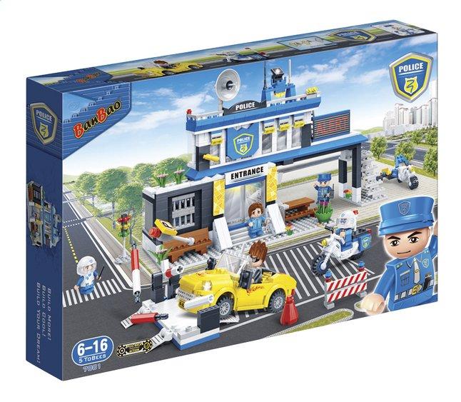 Image pour BanBao Police 7001 Commissariat de police à partir de ColliShop