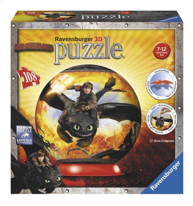 Image pour Ravensburger puzzleball Dragons 2 à partir de ColliShop