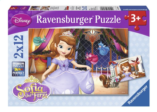 Afbeelding van Ravensburger puzzel 2-in-1 Disney Sofia the First from ColliShop