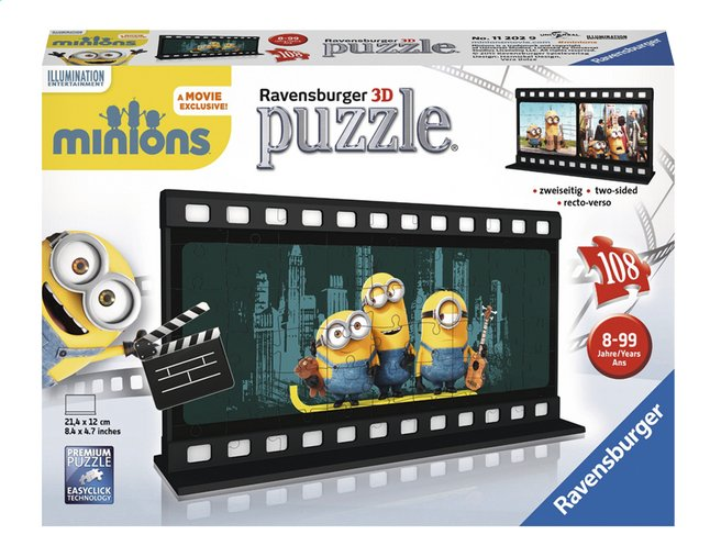 Afbeelding van Ravensburger 3D-puzzel Minions from ColliShop