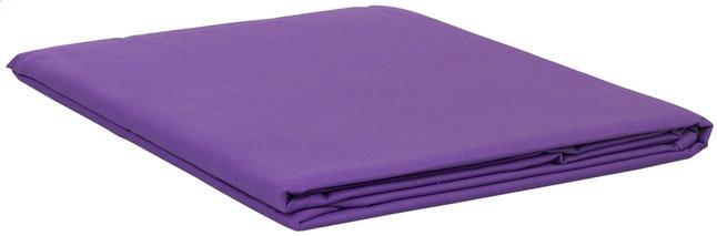 Image pour Sleepnight drap de lit mauve en coton 240 x 300 cm à partir de ColliShop