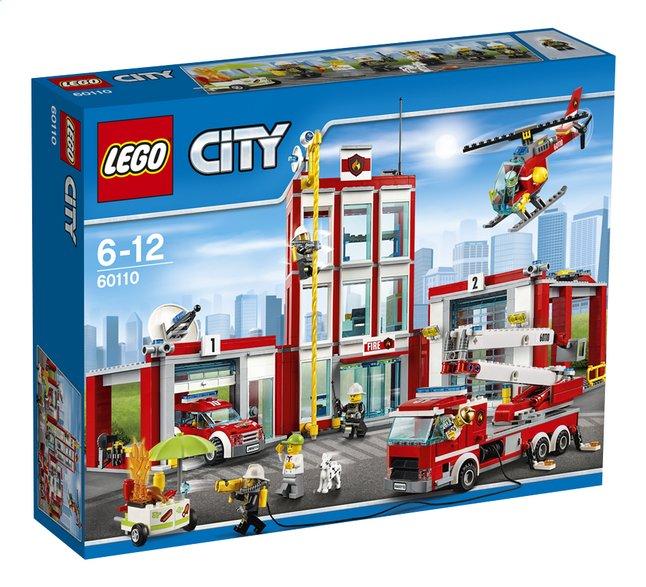 Image pour LEGO City 60110 La caserne des pompiers à partir de ColliShop