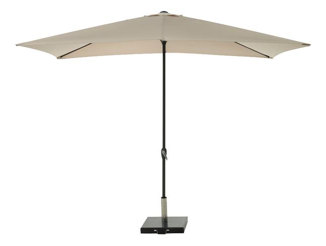 Afbeelding van Aluminium parasol 2 x 3 m zand from ColliShop