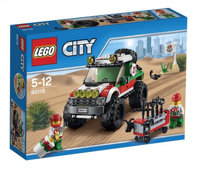 Image pour LEGO City 60115 Le 4x4 tout-terrain à partir de ColliShop