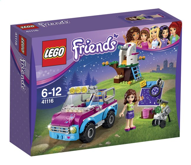 Image pour LEGO Friends 41116 La voiture d'exploration d'Olivia à partir de ColliShop