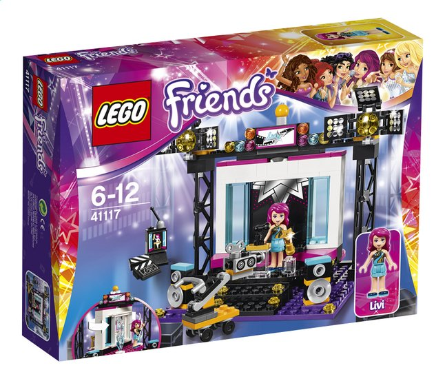 Image pour LEGO Friends 41117 Le plateau TV Pop Star à partir de ColliShop