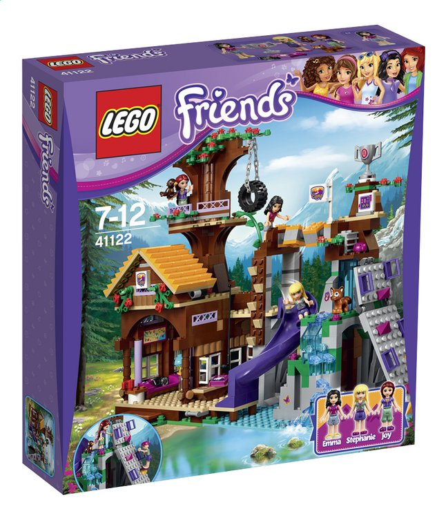 Afbeelding van LEGO Friends 41122 Avonturenkamp boomhuis from ColliShop