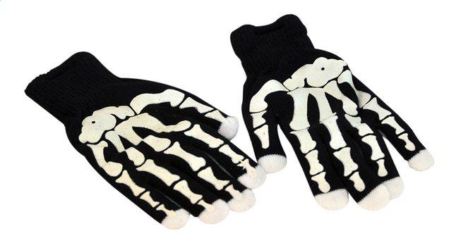 Image pour Goodmark gants de squelette avec doigts lumineux à partir de ColliShop