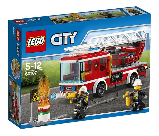 Afbeelding van LEGO City 60107 Ladderwagen from ColliShop