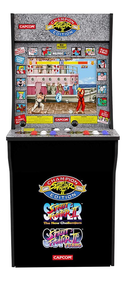 Arcade1Up console Street Fighter 2