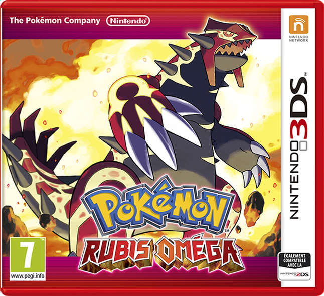 Afbeelding van Nintendo 3DS Pokémon: Rubis Oméga FR from ColliShop