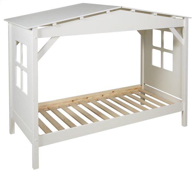 Image pour Lit cabane Pino blanc à partir de ColliShop