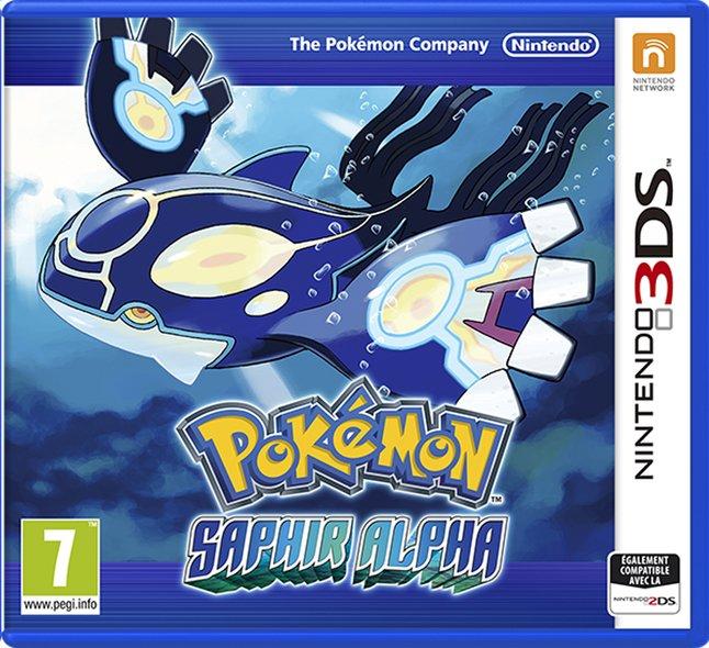Image pour Nintendo 3DS Pokémon: Saphir Alpha FR à partir de ColliShop