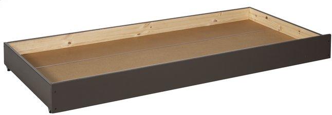 Image pour Tiroir de rangement/lit d'appoint Pino taupe à partir de ColliShop