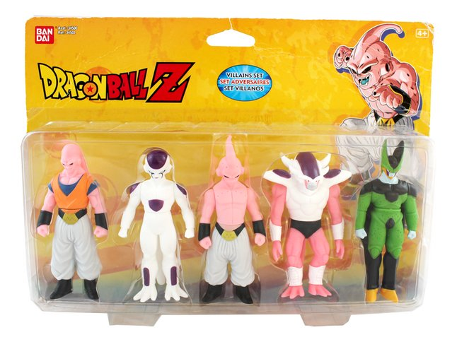 Figurine articulée Dragon Ball Z - les méchants