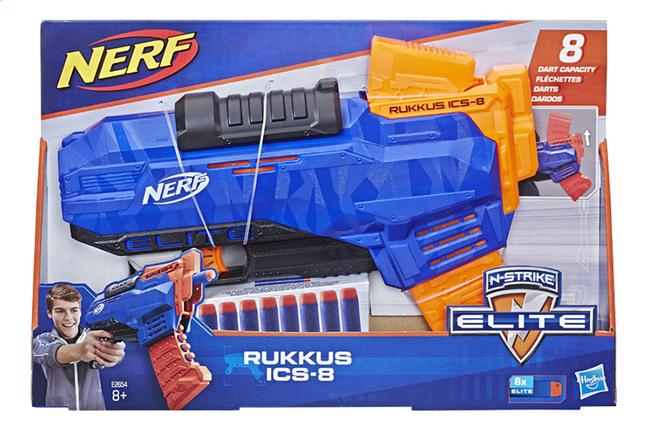 Image pour Nerf pistolet N-strike Elite Rukkus ICS-8 à partir de ColliShop