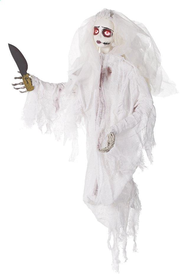 Afbeelding van Bruid met mes met licht, geluid en beweging from ColliShop