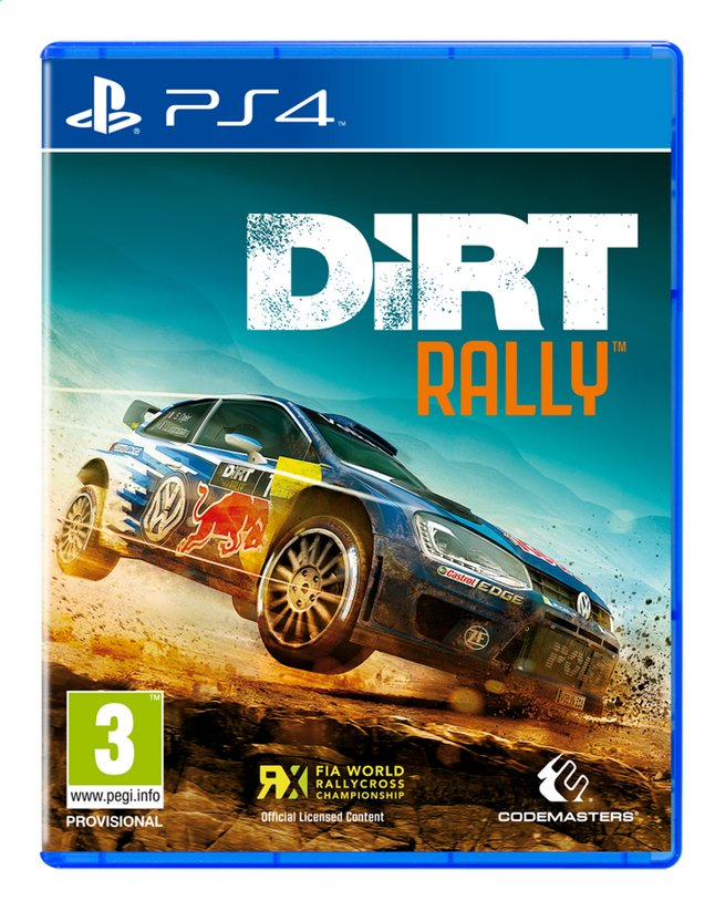 Afbeelding van PS4 Dirt Rally ENG/FR from ColliShop