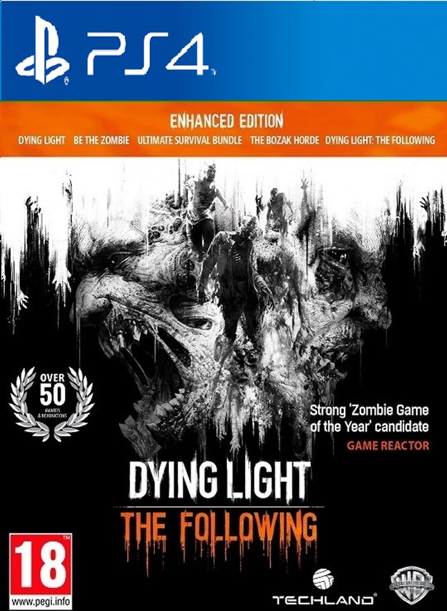 Afbeelding van PS4 Dying Light: The Following Enhanced Edition ENG/FR from ColliShop