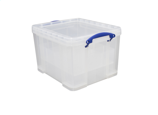 Afbeelding van Really Useful Kerstbox transparant 35 l from ColliShop