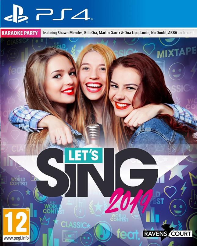 Image pour PS4 Let's Sing 2019 ANG + micro à partir de ColliShop