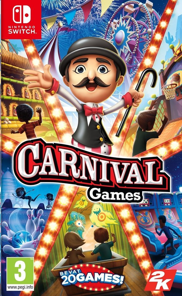 Afbeelding van Nintendo Switch Carnival Games NL/FR from ColliShop