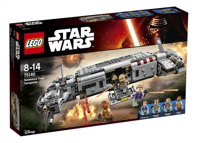 Image pour LEGO Star Wars 75140 Resistance Troop Transporter à partir de ColliShop