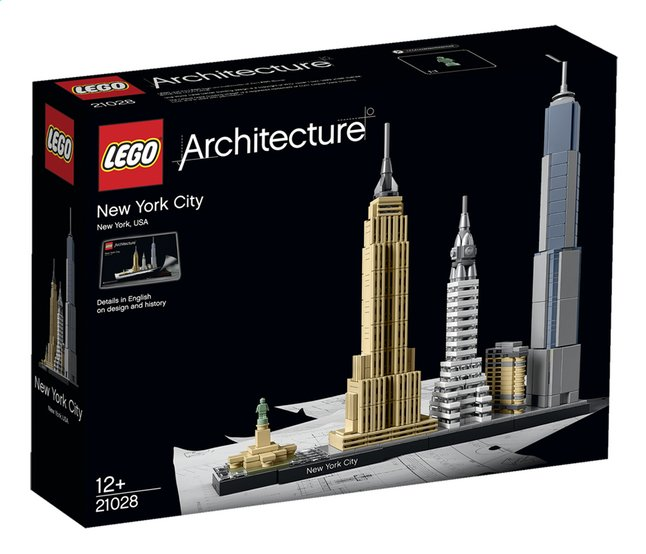 Afbeelding van LEGO Architecture 21028 New York from ColliShop