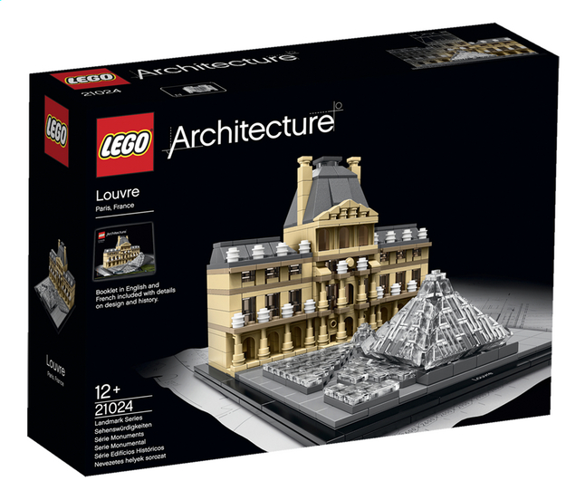 Afbeelding van LEGO Architecture 21024 Louvre from ColliShop