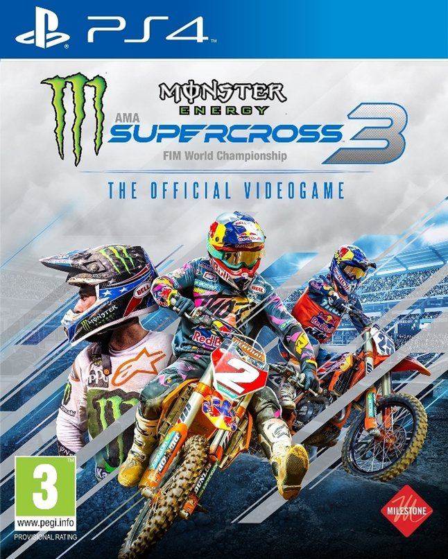 PS4 Monster Energy Supercross 3 The Official Videogame FR/ANG