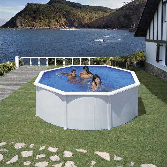 Image pour Gre piscine Fidji diamètre 3,50 m à partir de ColliShop