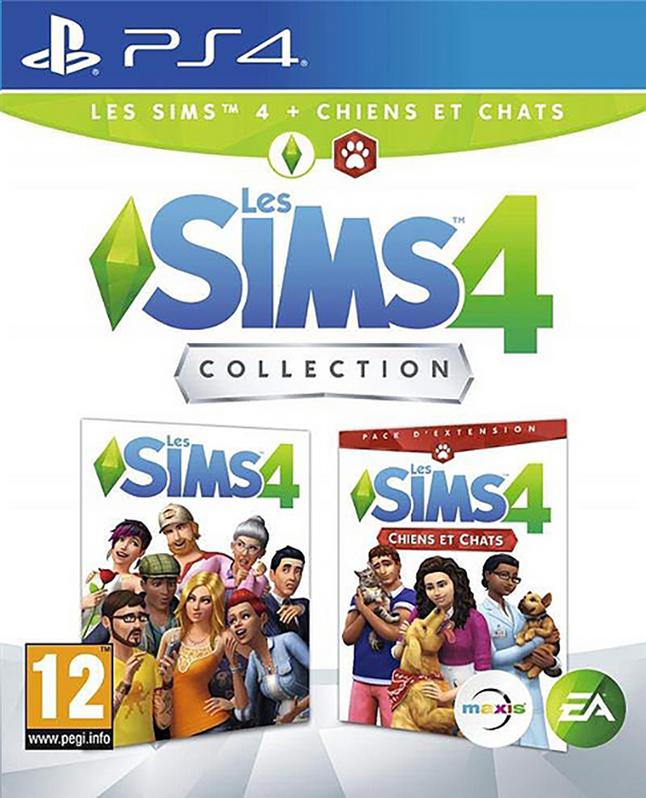 Image pour PS4 Les Sims 4 + extension chiens et chats FR à partir de ColliShop
