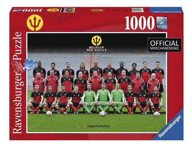 Afbeelding van Ravensburger puzzel Belgian Red Devils from ColliShop