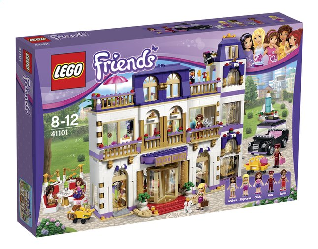 Image pour LEGO Friends 41101 Le grand hôtel d'Heartlake City à partir de ColliShop