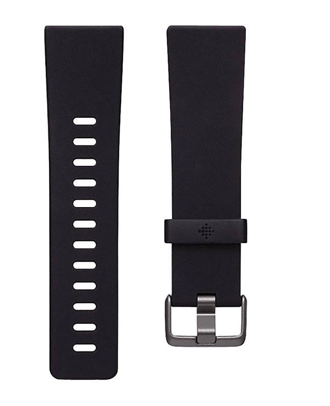 Afbeelding van Fitbit vervangband Versa2 klassiek L zwart from ColliShop