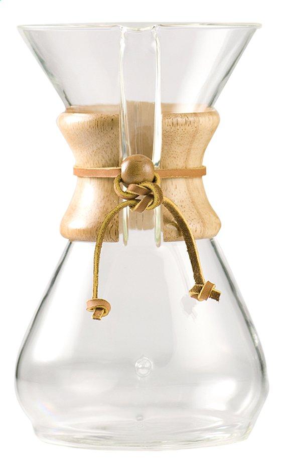 Chemex Cafetière manuelle Classic pour 8 tasses