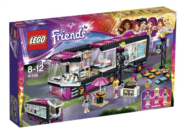 Image pour LEGO Friends 41106 La tournée en bus à partir de ColliShop