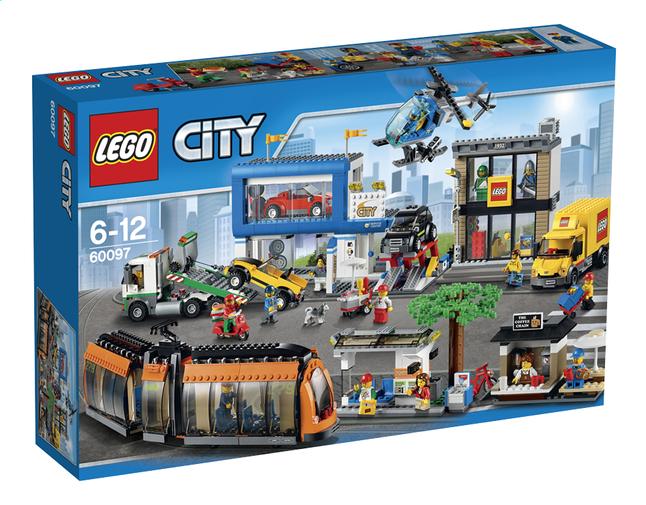 Afbeelding van LEGO City 60097 Stadsplein from ColliShop