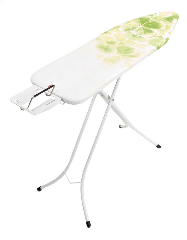 brabantia planche repasser leaf clover b avec repose fer. Black Bedroom Furniture Sets. Home Design Ideas