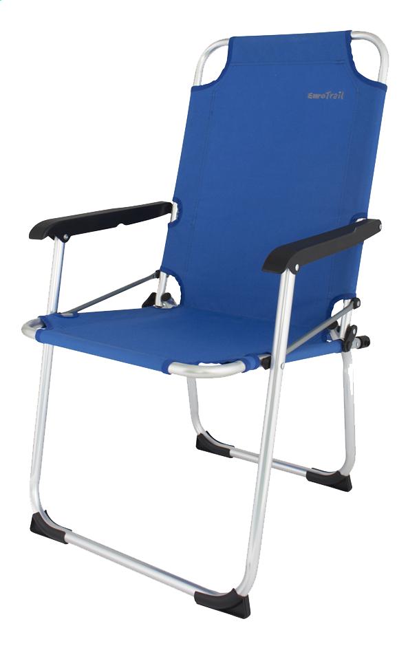 Image pour EuroTrail Chaise de camping Moita royal blue à partir de ColliShop