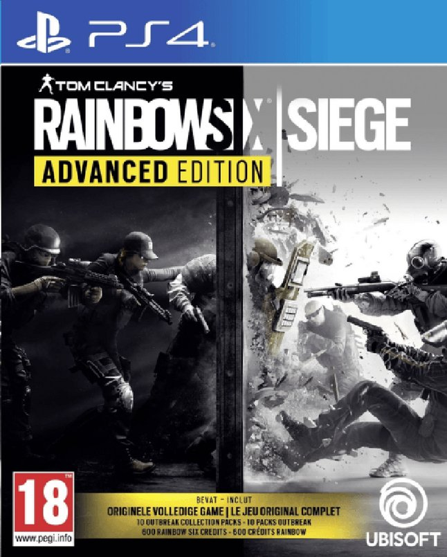 Afbeelding van PS4 Tom Clancy's Rainbow Six Siege - Advanced Edition NL/FR from ColliShop