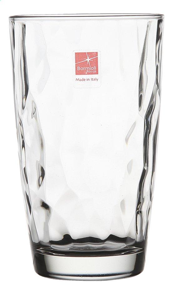 Image pour Bormioli Rocco 6 verres à eau Diamond Tumbler 47 cl transparent à partir de ColliShop