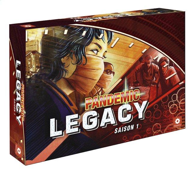 Image pour Pandemic Legacy Red à partir de ColliShop
