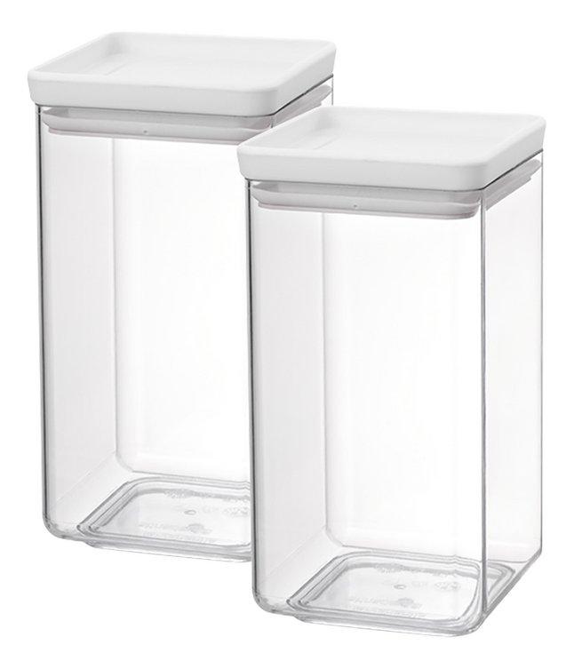 Image pour Brabantia 2 boîtes à provisions Tasty+ light grey 1,6 l à partir de ColliShop
