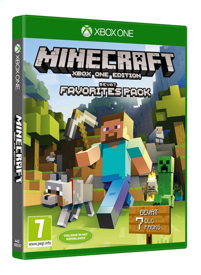 Afbeelding van XBOX One Minecraft Favorites Pack NL from ColliShop