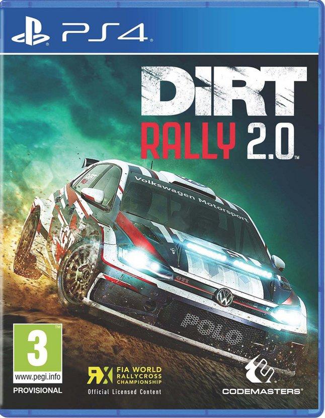 PS4 DiRT Rally 2.0 FR/ANG
