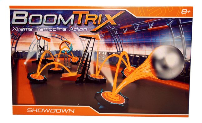 BoomTrix Xtreme Trampoline Action Showdown Set
