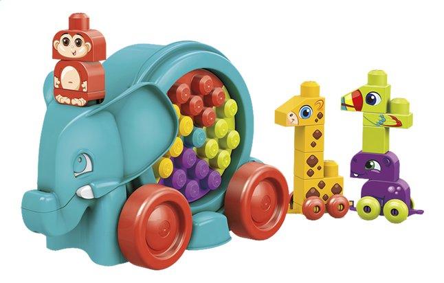 Afbeelding van Mega Bloks Elephant Parade blauw from ColliShop